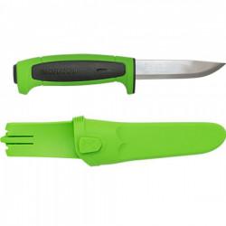Нож Morakniv Basic 546 2019 Edition нержавеющая сталь, пласт. ручка (зеленая) чер. вставка